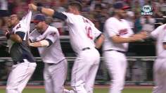 Santana walks off with another Tribe comeback