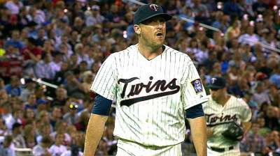 Starters Correia, Pelfrey conspired to pinch-hit Friday