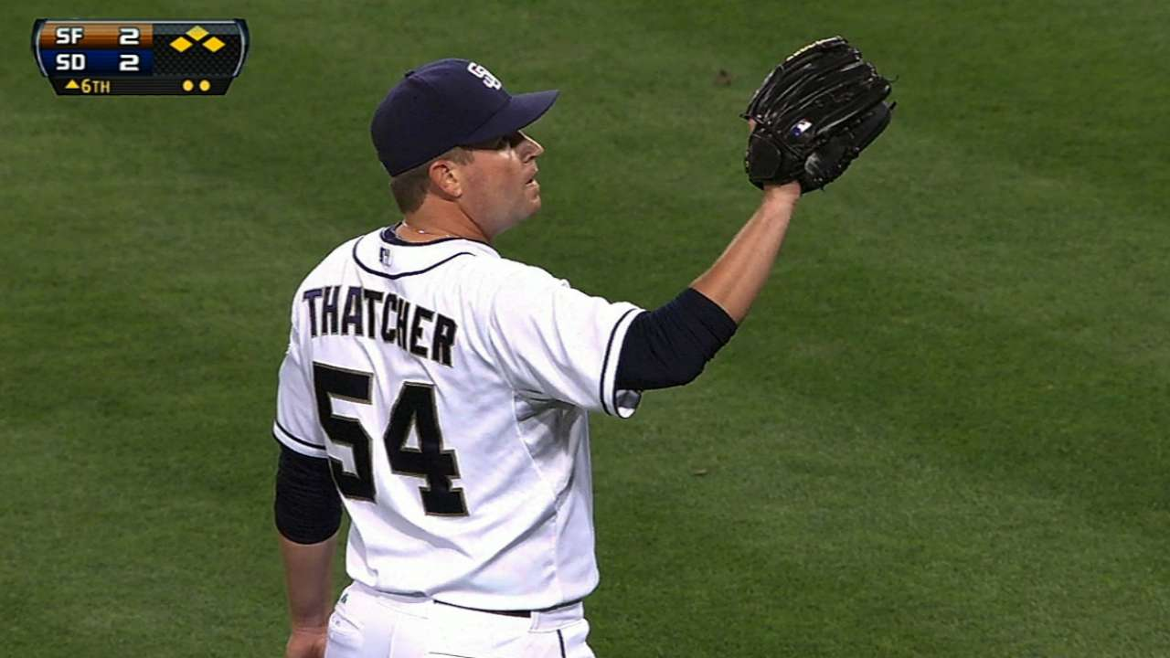 Thatcher not worrying about future with D-backs