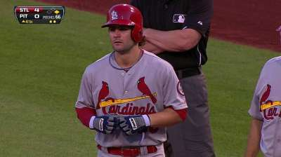 At No. 8 spot in order, Kozma showing potential