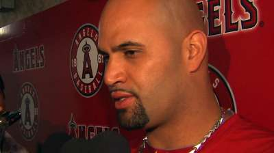 Pujols isn't giving up on returning this season