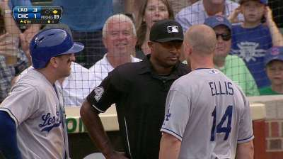 Ellis, Mattingly ejected for arguing strike call