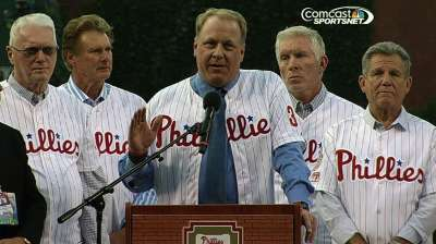 Schilling latest addition to Phillies Wall of Fame