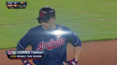 Francona sticking with Cabrera at cleanup