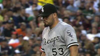 Sox slide continues despite Santiago's strong start