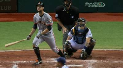 Bochy: Belt won't be fazed batting third