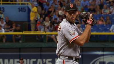 Bumgarner's run of success in good company