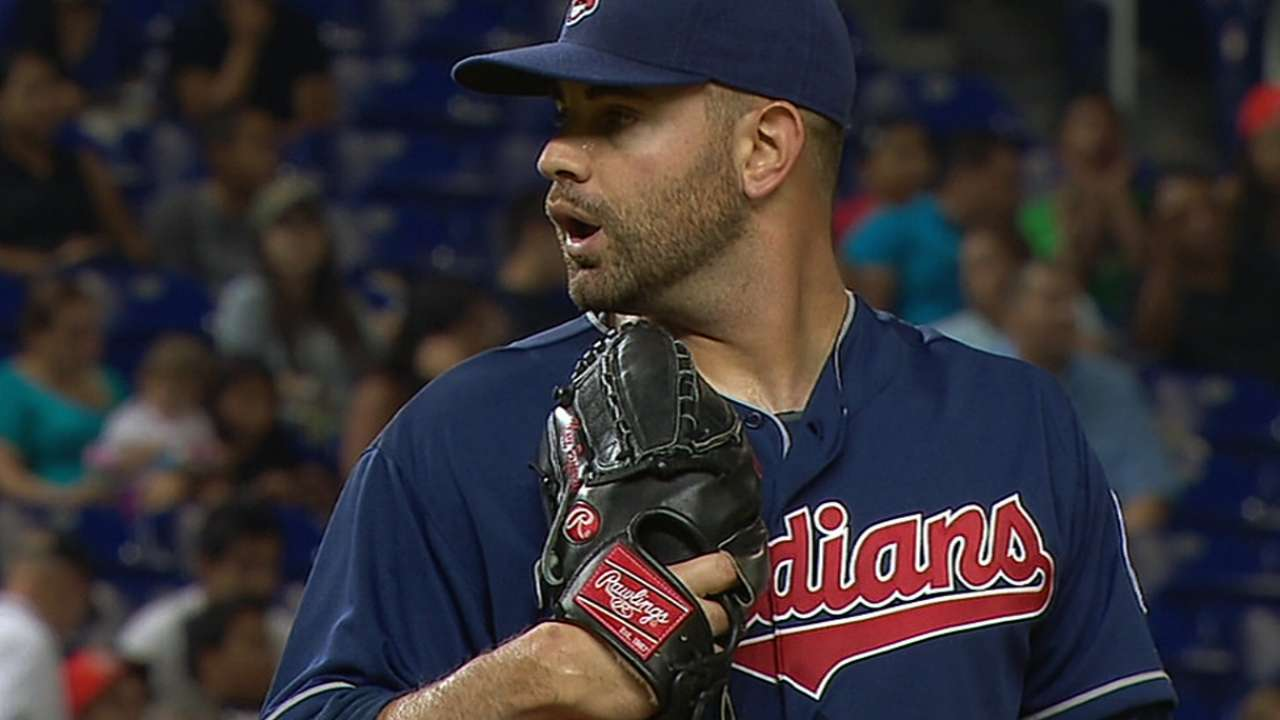 Indians avoid arbitration with reliever Rzepczynski
