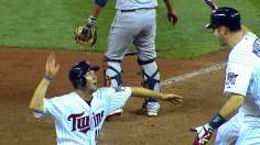 Dozier's heroics lift Twins twice in walkoff