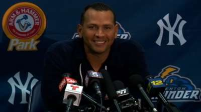 A-Rod goes deep in first game with Double-A Trenton