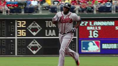 After lengthy dry spell, J. Upton's power resurfacing