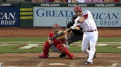 Mesoraco's two homers lead Reds over Cards