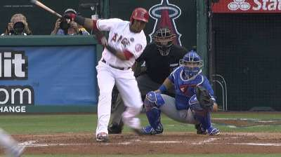 Aybar serving as a run-producer for Angels