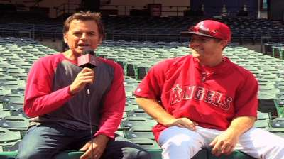 Scioscia weighs great grabs by Shuck, Trout