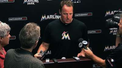 Brantly returns to Marlins with simplified approach
