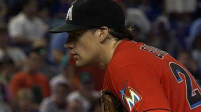 Young Marlins starters inspiring each other