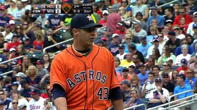 Astros getting up-close look at young talent