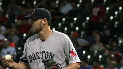 Lackey limits damage, but Sox blanked by Astros