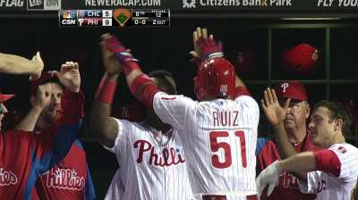 Ruiz facing uncertain future with Phillies