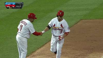 Beltran's focus on reaching base, not hitting homers