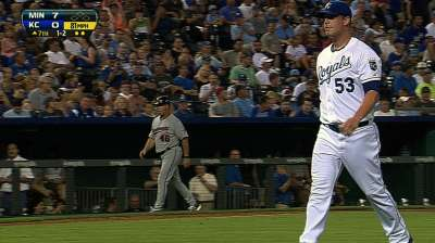 Smith optioned with Duffy's arrival to Royals