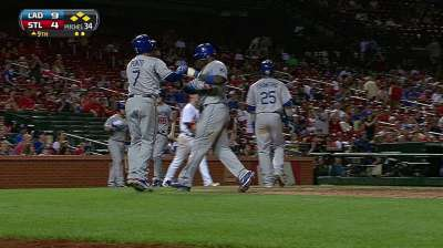 Ethier sits with lingering sore left calf