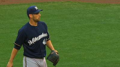 Brewers rally for win after Estrada's strong return