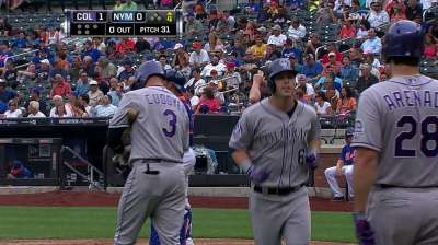Rockies close road trip 1-9 after falling to Mets