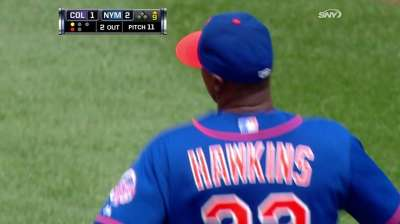 Hawkins not Mets' only option for closing duties