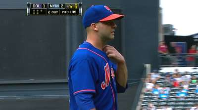 Reliability factor: Gee leads Mets to sweep of Rockies