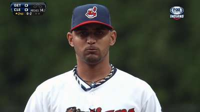 Innings in mind, Tribe shifts back Salazar
