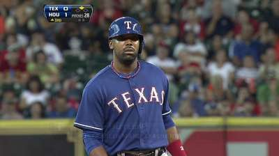 Rangers option Butler to make room for Rios