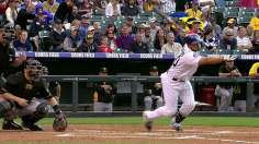 Rockies' bats break out in return home