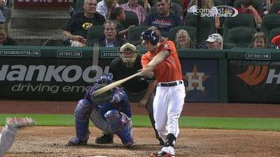 Bullpen falters late as Astros fall to Rangers
