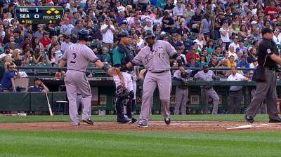 Aoki rests in finale against Mariners