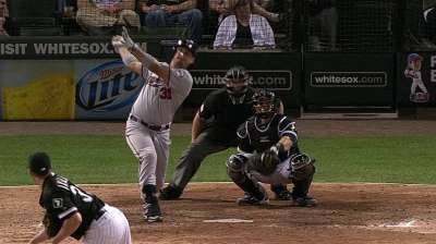 Arcia's 10th-inning blast gives Twins sweep of DH