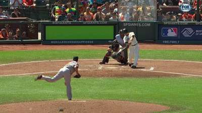 Scutaro a late scratch with stiff back; Arias fills in