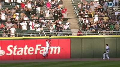 White Sox end streak with a giant leap