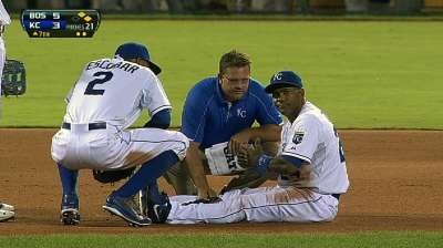 Tejada's tight calf to be reevaluated Sunday