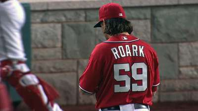 Roark proud to notch first Major League win