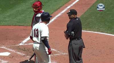 Asdrubal ejected in second for arguing strike calls