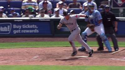 Lackey battles, but Red Sox come up short in KC