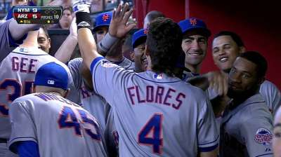 Flores misses third straight start