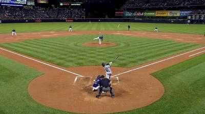 Decker's first home run came as pleasant surprise