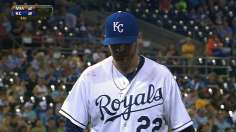 Royals hook Fish to gain second in AL Central
