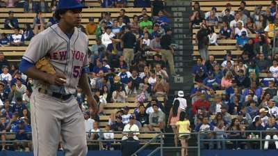 Shaky defense, controversial call trip up Mets