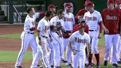 D-backs win on first walk-off homer to land in pool