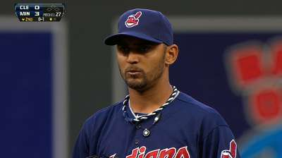 Salazar uneven as Twins rookie Albers blanks Tribe