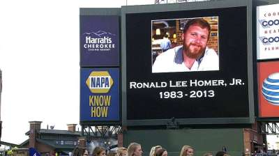 Police call death of Braves fan Homer an accident