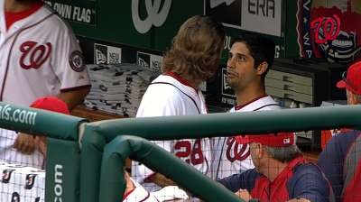 Gio, Werth argue in Nats dugout in first inning